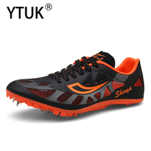 YTUK Professional track and field shoes men's sports shoes athletes sprint training shoes women's light comfortable breathable