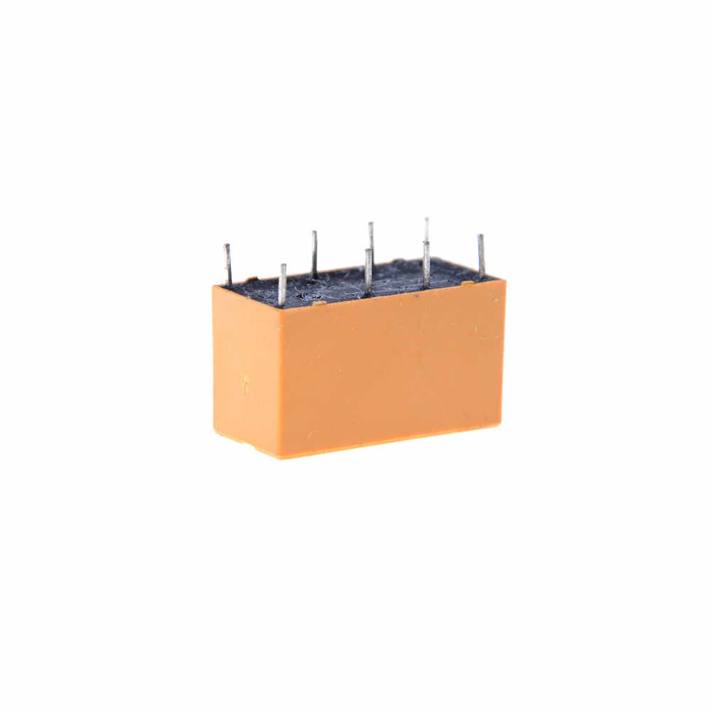 10 adet/grup 8 Pin PCB tipi güç röleleri HK19F DC 12V SHG bobin DPDT Mini güç röleleri seti toptan