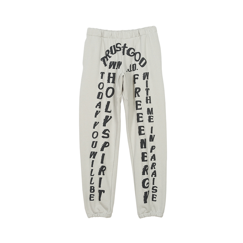2019 New Kanye West Season 6 Sweatpants Men Women Joggers Casual Pants Sunday Service CPFM Holy Spirit Printed Sweatpants