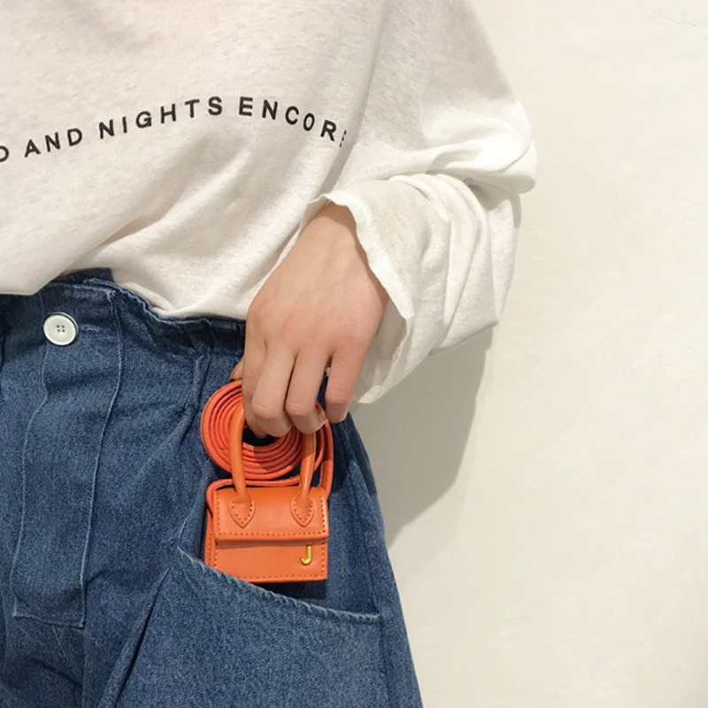 CASMOR Designer Bags Famous Brand Jacquemus Women Mini Bags Fashion Ladies Keys Small Purses Party Shoulder Messenger Bag 2019