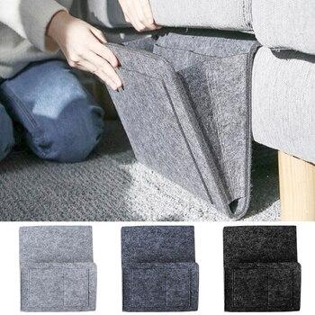 DIDIHOU almacenamiento para cabecera de cama organizador de cama bolsa de escritorio sofá TV Control remoto colgante Caddy sofá organizador de almacenamiento bolsillos de soporte de cama