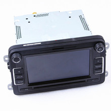 Car Radio Stereo RCD510 Original Radio With Code For VW Golf 5  Jetta 5  6 CC Tiguan VW Passat B6 B7 No Reverse Image interface vw original radio stereo rcd510 camera verion radio for vw golf 5 6 jetta cc tiguan passat polo with code