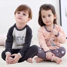 Осенне-зимняя эксклюзивная детская одежда коллекция года; Комплект для маленьких девочек; модная повседневная одежда с принтом для девочек; комплекты одежды для мальчиков 8 лет