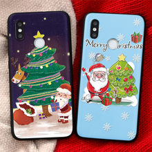 3D Emboss Cover Gift For Xiaomi Redmi 7A 8A 9A Note 9 8 Pro 8T 9s 5 6 7 Xiomi Mi Note 10 Lite 9T A3 A2 8 9 SE Chrismtas TPU Case(China)