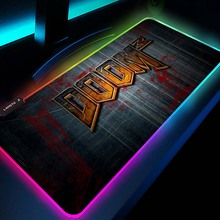 Mouse-Pad Game Gaming-Mouse Doom Gamer-Decoration 700x400-Mats with Rgb Led Undefined