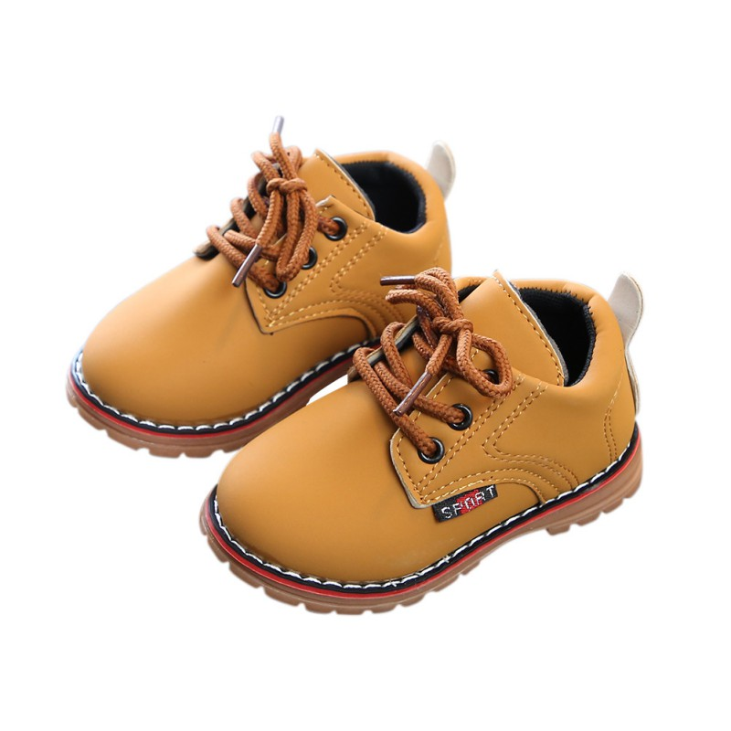 Baby Boots Cute Winter Baby Boys Girls Child Army Style Martin Boot Warm Shoes  Fashion