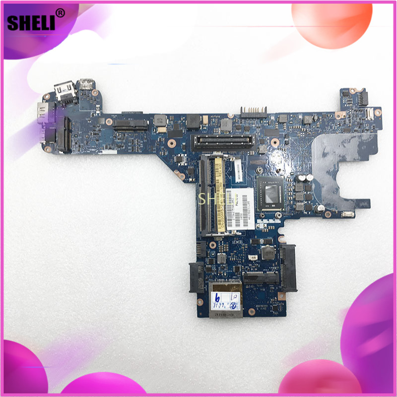 SHELI LA-6612P CN-0GGXF5 0GGXF5 GGXF5 For Dell E6320 Motherboard with <font><b>I7</b></font>-<font><b>2620M</b></font> image