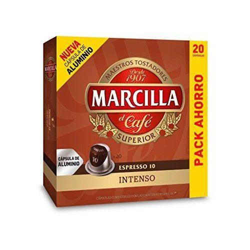 Capsulas Compatibles Nespresso®* Marcilla Intenso 20 Unidades