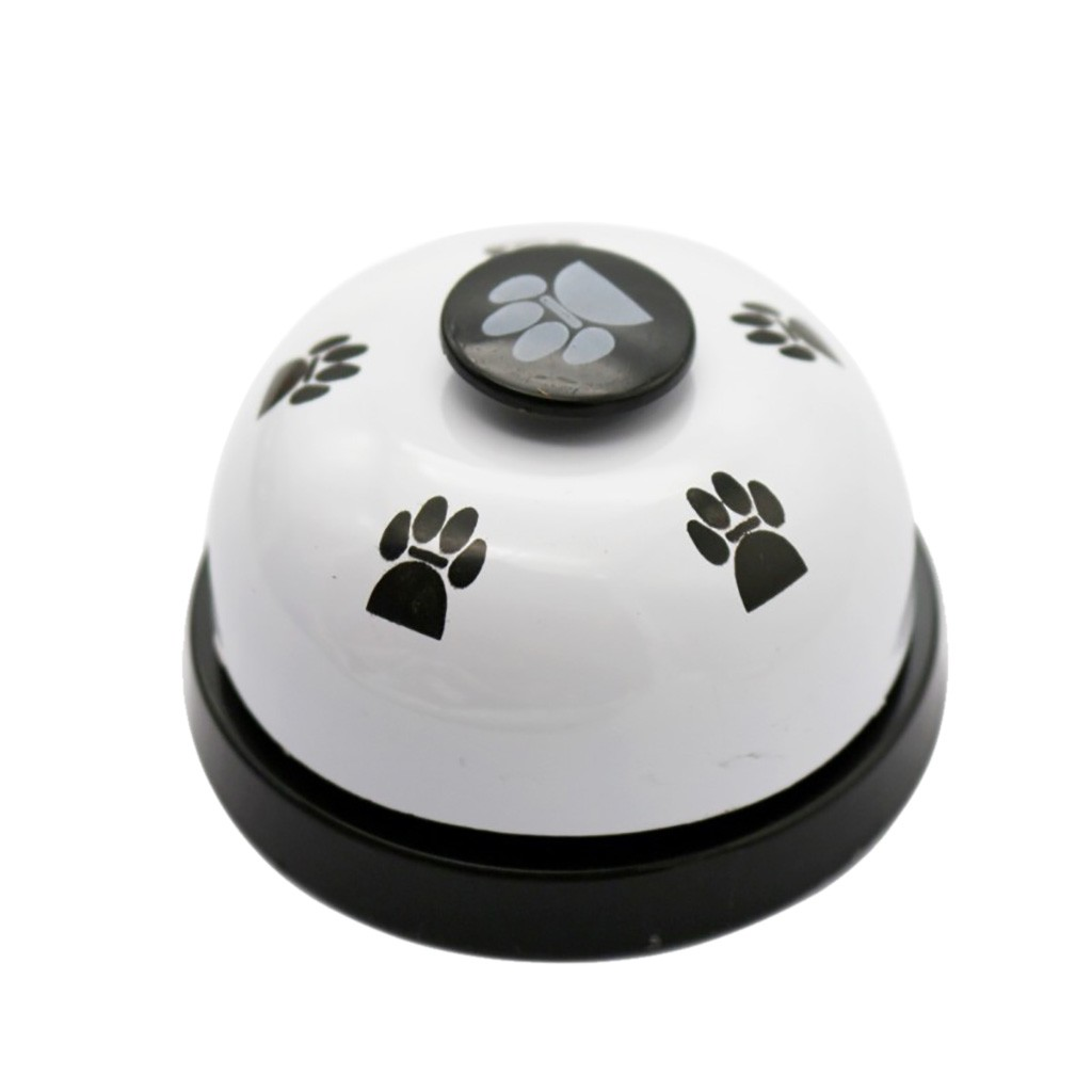 Pet Dog Training Metal Bell Dog Trainings Dogs Pets Accessories Non Rubber Bottoms Interactive Toys Collar Adiestramiento Perro-4