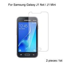 цена на 2pcs For Samsung Galaxy J1 Nxt / J1 Mini 2016 Screen Protective Tempered Glass For Samsung Galaxy J1 Mini 2016 J1 Nxt
