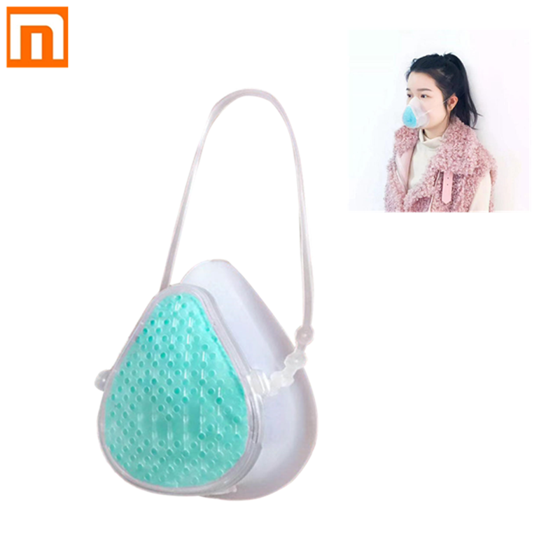 Xiaomi Mijia Youpin S8 Self-Suction Face Mask Filter Mask Reusable Comfortable Protection Efficiently Mouth Cover