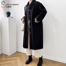 Для женщин для и девушек модное осеннее пальто h образное женское