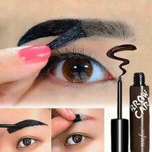 Eyebrow Enhancer Dye Cream Long-lasting Tattoo Tint Pigment Anti-staining Peel Off Eye Brow Gel Makeup недорого