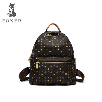 FOXER quality pvc Material women backpack designer bags famous brand women bags 2020 new luxury women bags