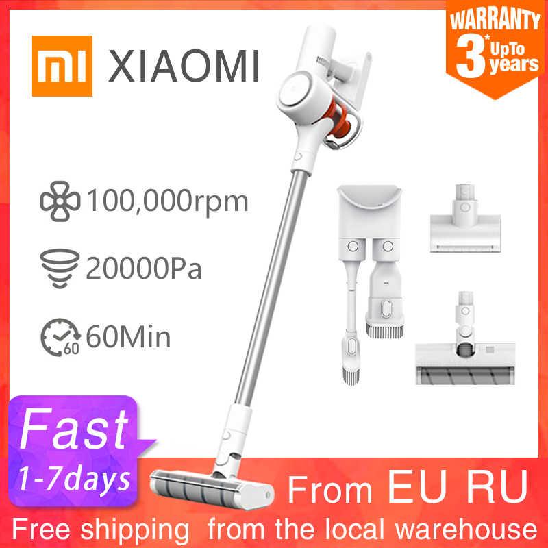Xiaomi Mijia Handheld Stofzuiger 1C Home Auto Huishoudelijke Auto Draadloze Vegen 20000Pa Cycloon Zuig Multifunctionele Borstel