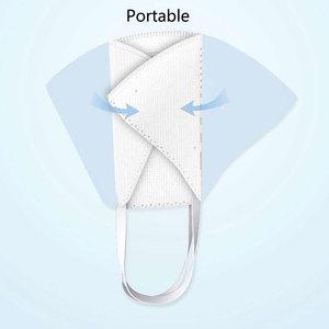 Image 3 - 4PCS Xiomi Mijia Airpop נייד ללבוש PM2.5 נגד אובך מסכת מתכוונן אוזן תלייה נוח עבור xiaomi חכם בית