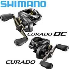 Baitcasting Shimano Curado Dc/Curado K Vissen Reel 6.2:1/7.4:1/8.5:1 6 + 1BB 5Kg Power I-DC4 Systeem Sterkte Lichaam Glad Licht