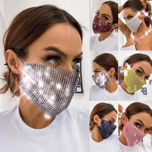 1PCS Printing Face Maskswashable And Reusable Facemasks Multi-functional Breathable Masque Cotton Reutilisable Facemask#K35(China)