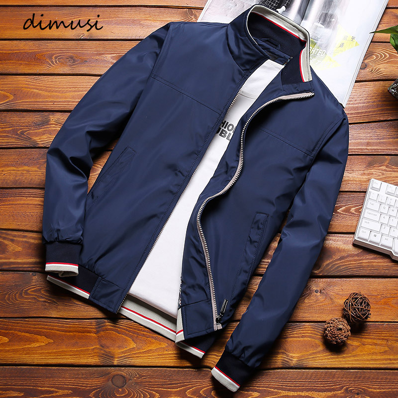 DIMUSI Mens Bomber Jackets Casual Men Zipper Streetwear Pilot Coats Men Outwear Slim Fit Sportswear Baseball Jacket Clothing 8XL