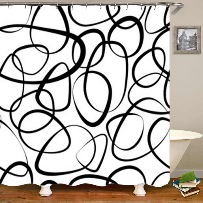 african american woman shower curtain