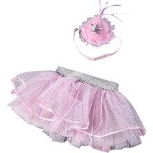 Юбка пачка для малышей юбка Девушка fuffy розовый Цвет с костюм