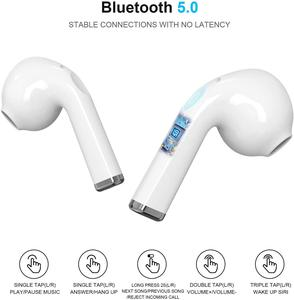 Image 2 - Bluetooth 5.1 Earphone Wireless Earphones Stereo Sport Wireless Headphones Earbuds headset With LED Power Display For all Phones
