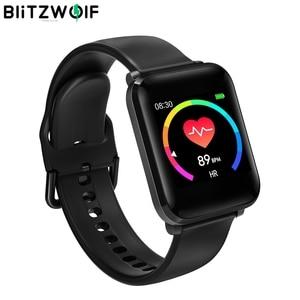 Image 1 - BlitzWolf BW HL1 1.3 IPS Smart Watch 8 Sport Mode IP68 Multi language Display HR Blood Pressure 15Days Standby Fitness Tracker