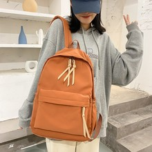 School Backpack Rucksack Canvas Japanese Vintage Fashion Travel-Bags Large-Capacity Girls