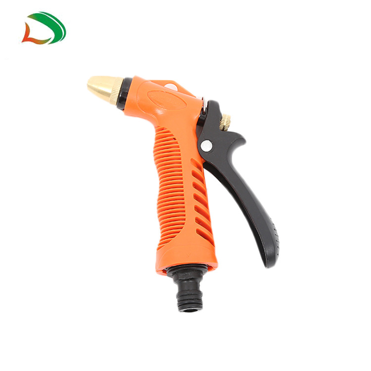 Foreign Trade Hot Sales Hot Selling Telescopic Pipe Nozzle Portable Car Mounted Automobile Water Gun Gardening Hose Nozzle Custo