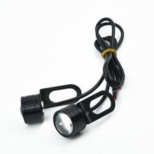 Светодиодный точечный светильник для мотоцикла 2X12V, полезный передний светильник для вождения