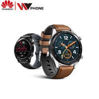 Huawei relógio gt relógio inteligente à prova de água suporte de chamada telefone gps freqüência cardíaca rastreador para android ios|Relógios inteligentes| |  -