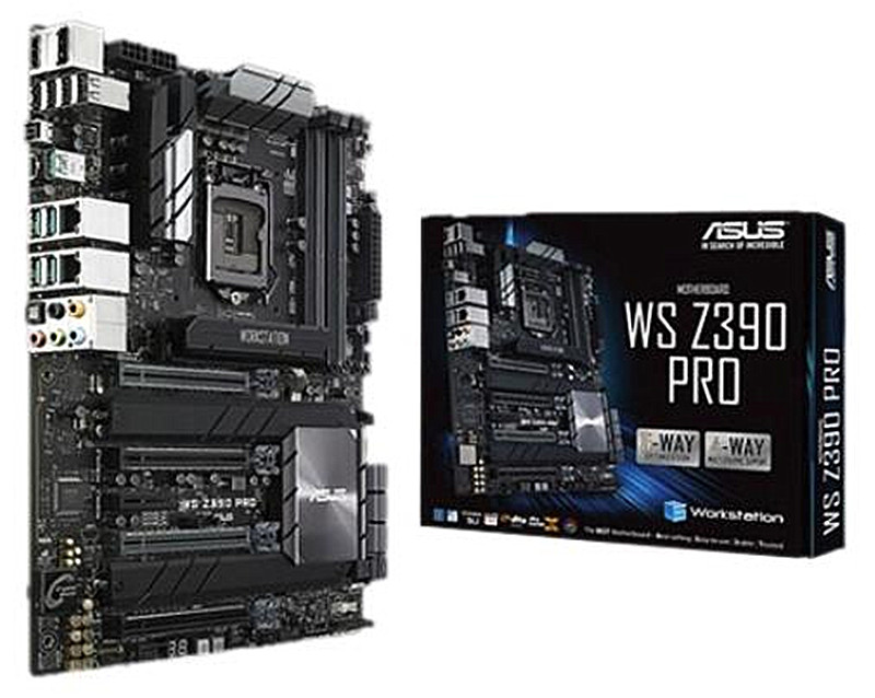NEW For ASUS   WS Z390 PRO Original Motherboard Socket LGA1151  DDR4 Z390 Desktop Motherboard