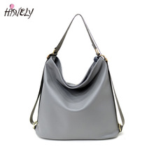 High Quality Women Artificial Leather Shoulder Bag Female Big Handbag Black Color New Arrival  Designer ladies Totes Bags Hobos