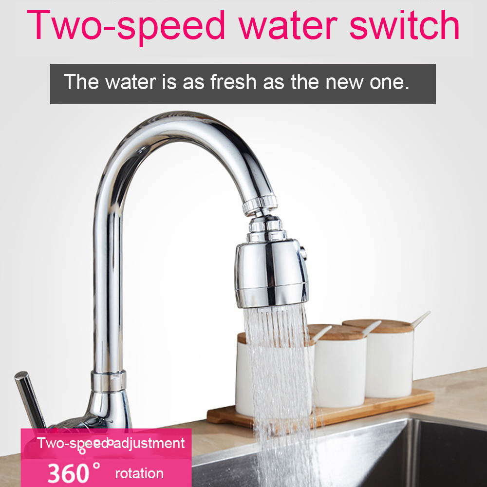 Adjusting Tap Kitchen Faucet Shower 360 Rotate Water Saving Shower Head  Kitchen Faucet  Filtered For Faucet Accessories