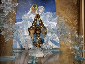 Image 5 - MODEL fanów Saint Seiya tkaniny mit Aquarius Camus Cygnus Hyoga płatek śniegu efekty specjalne