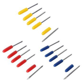 5Pcs/Set 30° 45° 60° Degree Blades Cutting Plotter For Pcut Vinyl Cutter Blade WXTA 5pcs 30 45 60 degree blade cutting plotter for mimaki vinyl cutter blade new