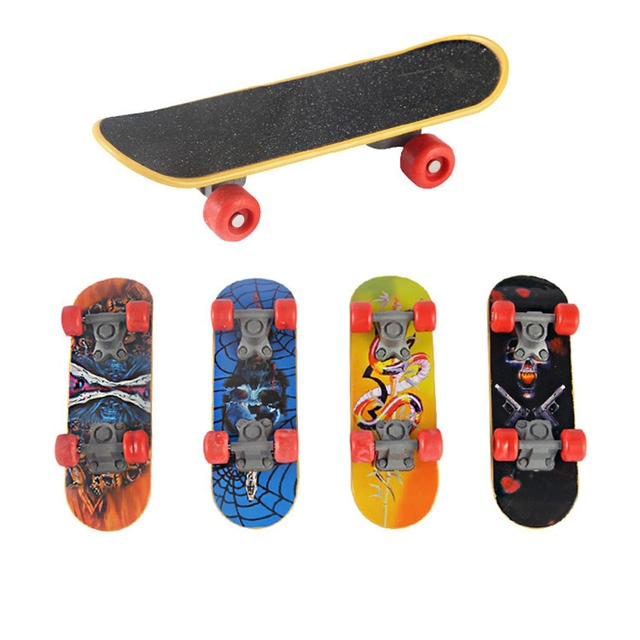Alloy Stand Plastic Fingerboards Finger Boards Box Skate Finger Skateboard Indoor Pastime Toys Kids Boys Toys