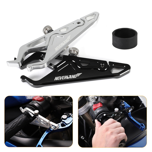 27MM 51MM Universal CNC Motorcycle Cruise Control Throttle Lock Assist Retainer Relieve Stress Durable Grip Black D40