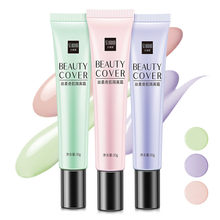 Base de Maquillaje Para Mujer, corrector de Maquillaje Transpirable, Crema BB TSLM1