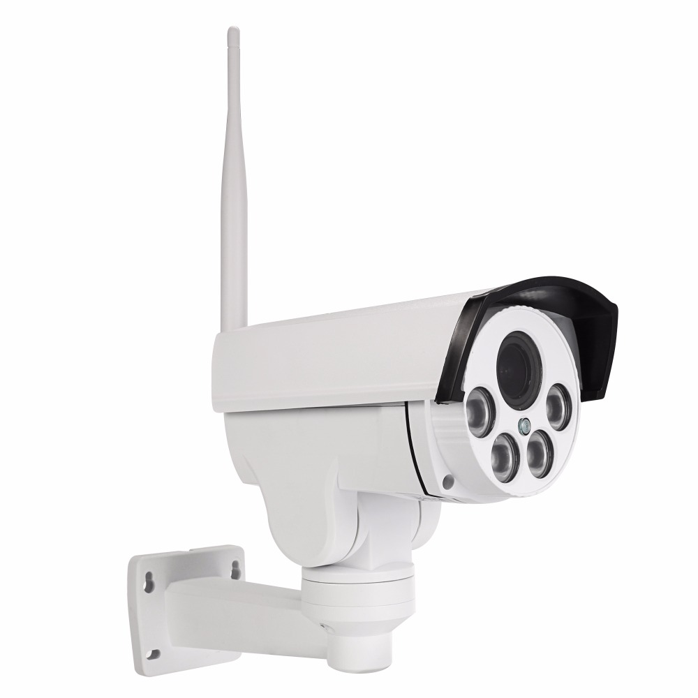 Security 5MP 10X Optical Zoom WiFi IP Camera IP66 PTZ Outdoor 1080P IR Night Audio CCTV Camera Monitor Support ONVIF 64GB Card image