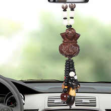 Car Pendant Cute Gourd Hanging Ornaments Automobiles Rearview Mirror Suspension Decoration Accessories Gifts Car Hanging(China)