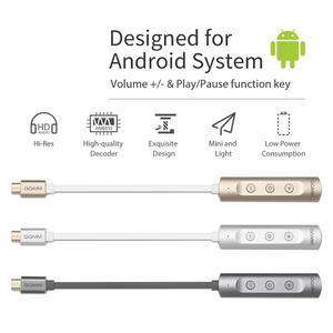 Image 5 - GGMM Mini Di Động Bộ Khuếch Đại Tai Nghe Kim Loại C USB DAC Amp Âm Thanh Audio 3.5Mm DAC Amp USB Adapter Chuyển Đổi android Điện Thoại Máy Tính V. V...