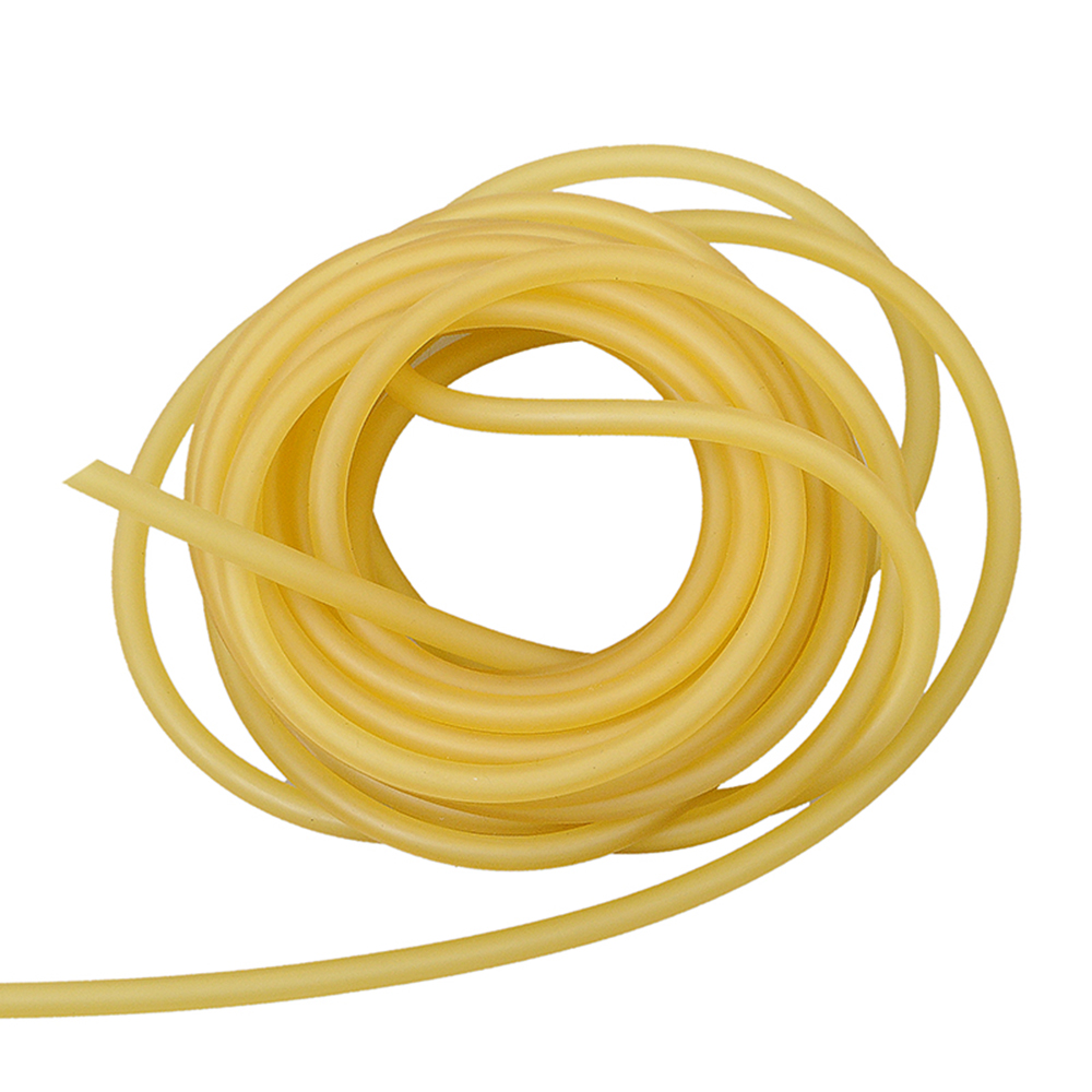 1M Natural Latex Rubber Tube Hunting Slingshots For Outdoor Shooting High Elastic Tubing Band Tactical Catapult Bow Accessories