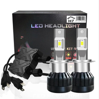 DarkAway High Power 55W H7 LED Headlight H11 H8 H1 HB4 HB3 H13 9004 9007 H4 Bulb Car Light Accessories 16000Lm 12V Auto Canbus