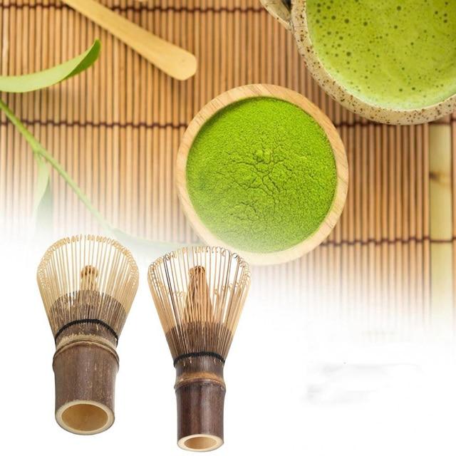 Bambou Matcha thé vert café poudre fouet Chasen thé cérémonie approvisionnement