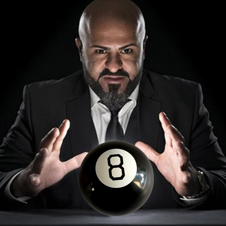 Retro Magic Mystic 8 Predict Ball Fortune Telling Teller Ball Toys For Kids Birthday Christmas Gift Educational Toys Magic Ball