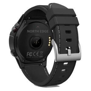 Image 2 - نظام تحديد المواقع ساعة ذكية رجالي ساعة رقمية معدل ضربات القلب الارتفاع بارومتر البوصلة Smartwatch الرجال تشغيل جهاز مراقبة اللياقة الرياضية نورث ايدج