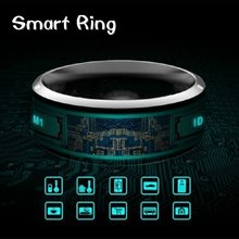 Multifunctional NFC Waterproof No Charging Information Store Share Smart Ring For Android Windows Phone Smart Accessory(China)
