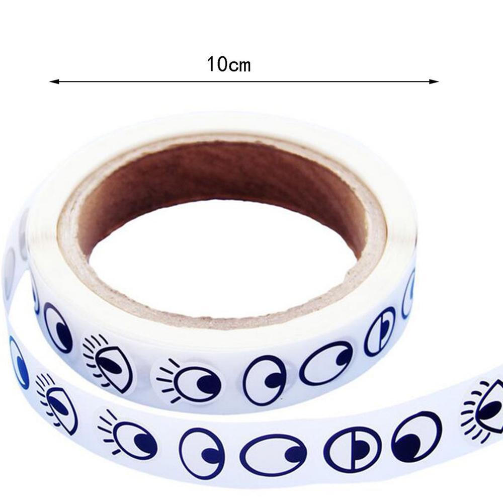 Eye Stickers Educational Toys Laptop Birthday Gifts Children's Handmade Diy Black And White Eyeball Stickers Activity Creative