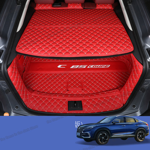 lsrtw2017 for changan cs85 leather car trunk mat cargo liner 2018 2019 2020 SUV boot rug carpet interior accessories cover